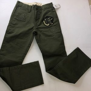 Gap kids Jean color green size 8 slim